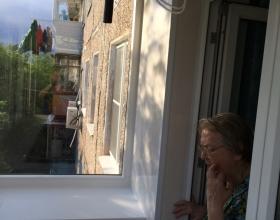 Наружная отделка балконов.